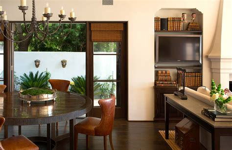 spanish colonial beach house  santa monica idesignarch
