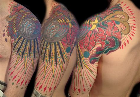 trippy tattoo designs fractal psychedelic tattoos majestic nyc