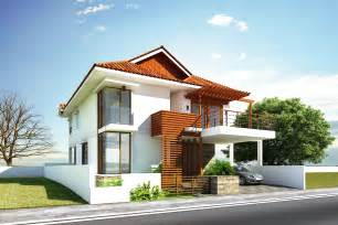 exterior home decoration glamorous modern house exterior front designs ideas with balcony carport facade house design