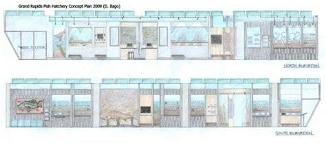 hatchery layout plan grand rapids fish hatchery visitor centre concept plan