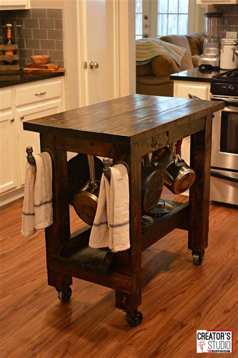 Build Kitchen Island Table by 25 Best Ideas About Diy Kitchen Island On Pinterest