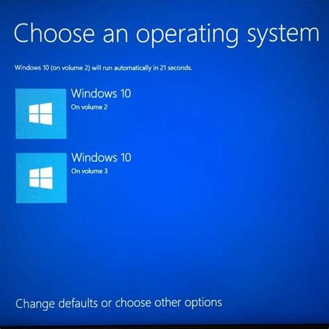 how to choose windows how to change the default operating system in windows 10