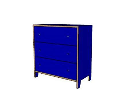 Robin Dresser by 20 Dresser Robin Blue With Birch Accents 3 Drawered