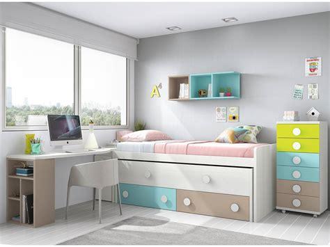 camas nido infantiles merkamueble dormitorio juvenil cama nido sinfonier mesa