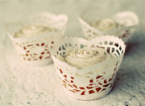 How To Make Paper Cupcake Holders - craft of the day doily cupcake wrappers huffpost