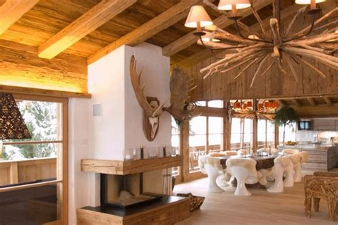 wooden house in chalet style with tale home