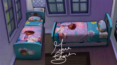 mod 4 sims bed mod the sims doc mcstuffins children s bed