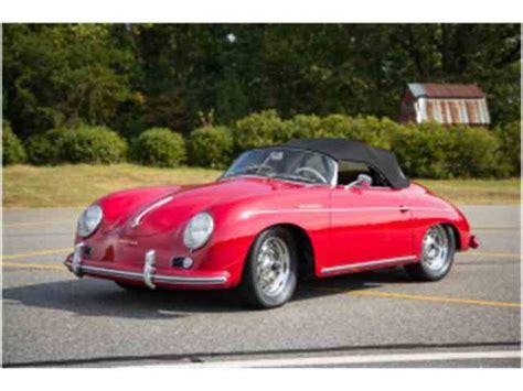 1957 porsche speedster 1957 porsche speedster for sale on classiccars