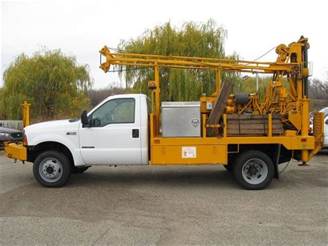 1999 Ford F550 4x4 Drill Truck for Auction   Municibid