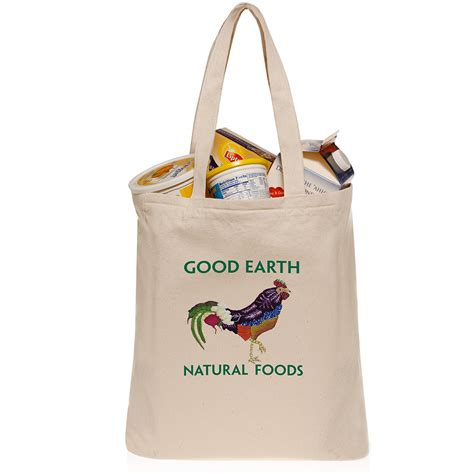 Cotton Grocery organic cotton grocery bags printed with logo design