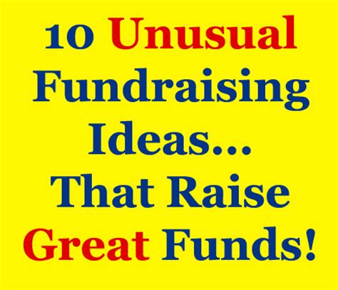 Creative Fundraising Letter Ideas 10 Fundraising Ideas For Profits