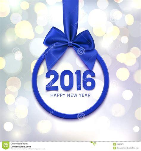 happy new year 2016 banner happy new year 2016 banner stock vector image