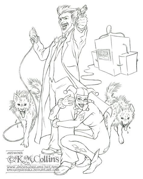 the joker and harley quinn by kmcgeijyutsuka on deviantart