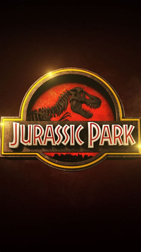 free wallpaper jurassic park jurassic park logo wallpaper free iphone wallpapers