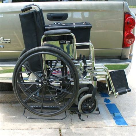 Wheelchair Rack Trailer Hitch by Wheelchair Carrier Rack Hitch Mount Tilt And Carry