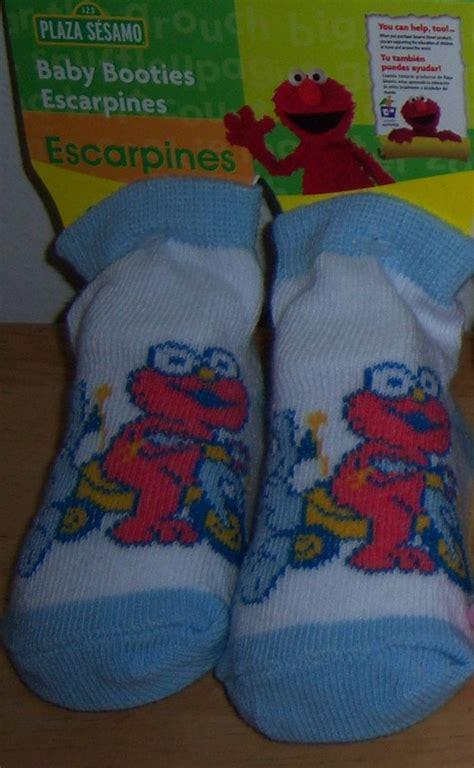 new sesame street bootie socks elmo cookie monster big
