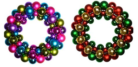 christmas bauble christmas wreath multicoloured