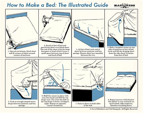 how to make bed habit of making your bed