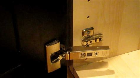 how to put hinges on kitchen cabinets ikea integral kitchen cabinet door hinge how to clip and