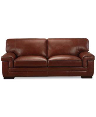 Macy Leather Sofa Zane 88 Leather Sofa Furniture Macy S Macy Leather Sofa