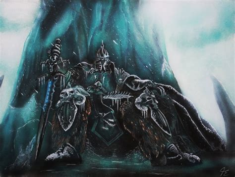 lich king arthas by tausend nadeln on deviantart