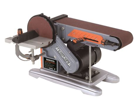 terratek 375w tbd46e belt sander bench sander electric sander belt and disc sander 4 quot belt x