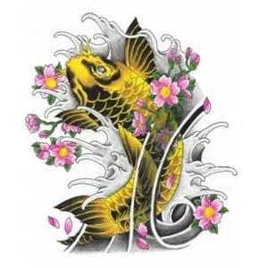 gold gelb koi tattoo hier mein tattoo w 228 hl dein tattoo