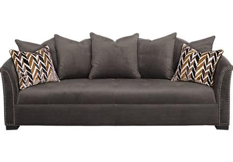 sofia vergara mandalay charcoal sofa sofas