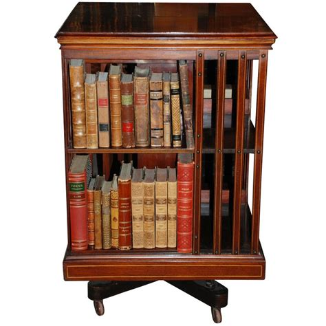 Antique English Revolving Bookcase C 1879 80 At 1stdibs Revolving Bookshelves