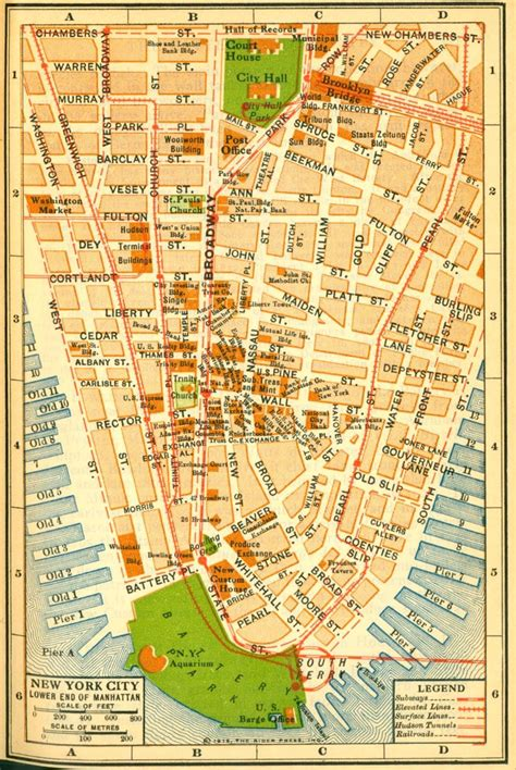 map of new york historical new york city manhattan maps