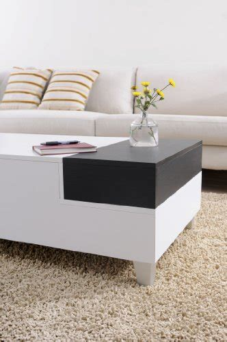 white tray coffee table iohomes audra coffee table with serving tray white
