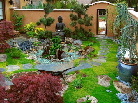 create a backyard zen garden