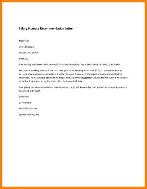4 salary raise letter reporter resumes