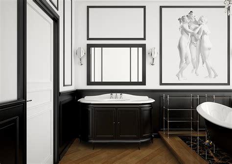 sala bagno sala da bagno in stile neoclassico arredo e design 100