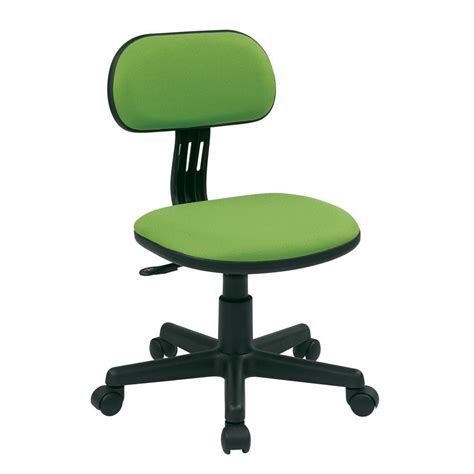 Office Chairs Home Depot Ospdesigns Green Fabric Office Chair 499 6 The Home Depot