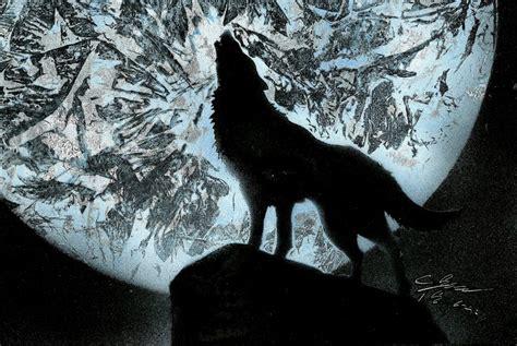 Wolf Spray Paint By Dream4dreamtheater On Deviantart