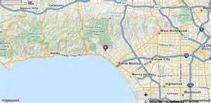 pacific palisades california map pacific palisades ca map mapquest california my home