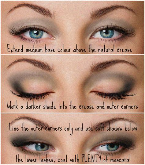 Eyeshadow Hooded how to apply eye makeup for hooded makeup vidalondon