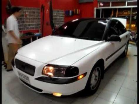 Sharini Syari I White Matt autocar wrap volvo matte white