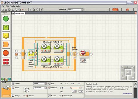 tutorial for programming the lego mindstorms nxt robot programming software for the itgs classroom