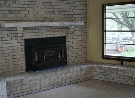 Brick Fireplace Painting Ideas by Planning Ideas Painting Brick Fireplace Ideas Painted