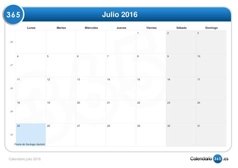 calendario de pago mef julio a diciembre 2016 calendario julio 2016