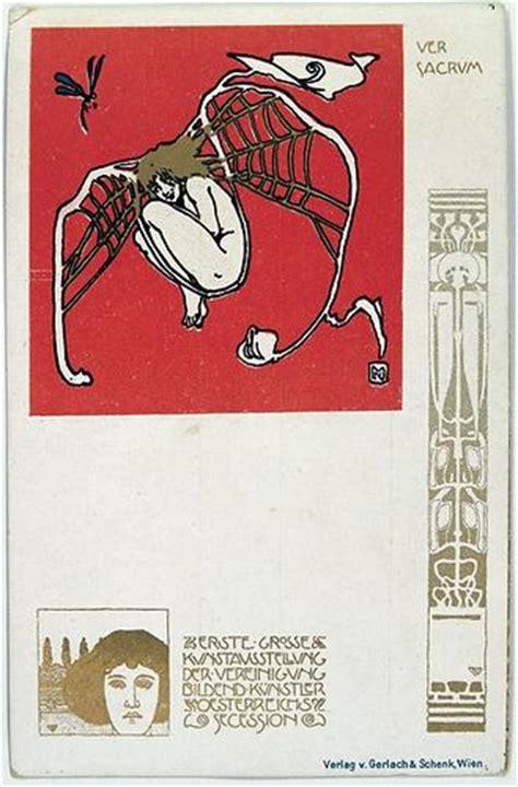 Postkarten Drucken Graz by Ver Sacrum Postkarte No 1 Ver Sacrum Historische