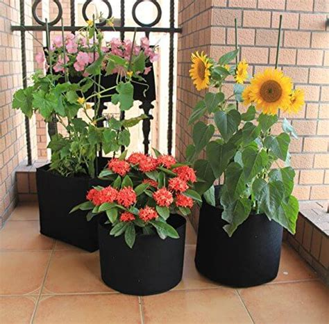grow bags fabric planter  pack insteading