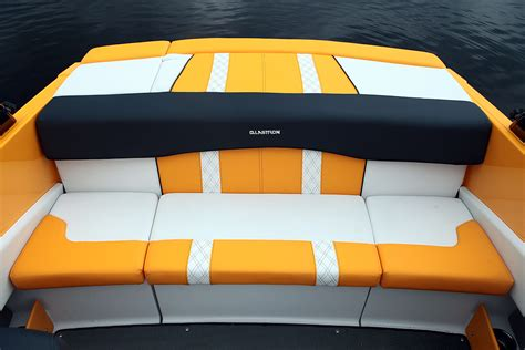 rear bench seat for boat glastron gts 185 review boat com