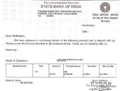 Application Letter For Loan Against Fixed Deposit Bank Deposit Accounts Types Demand Term And Flexi Deposits Lopol Org