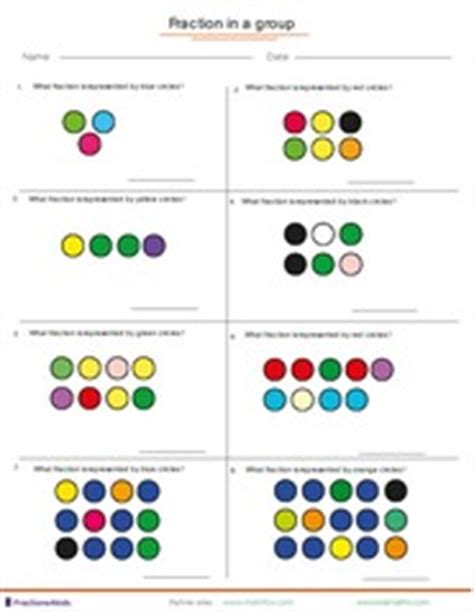 worksheets fractions of groups index of frackids thumbs worksheets worksheets1