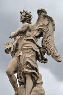 Angel Sculptures by Ponte Sant Angelo Bridge Of Angels Rome Jennifer Lyn King