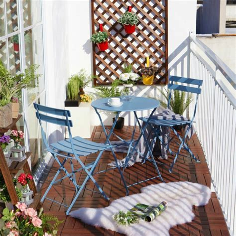 decor designer balcony chair and table design ideas for urban outdoors