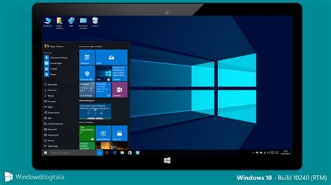 install windows 10 build 10240 video tour completo di windows 10 rtm build 10240